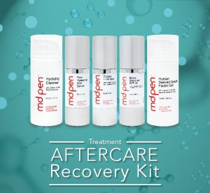 MDPen Aftercare Microneedling Recovery Skincare kit